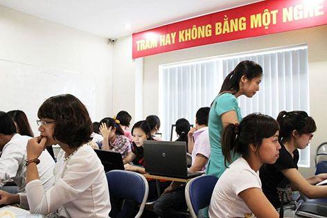 Trung tâm dạy học kế toán thực hành tại Quận Ba Đình