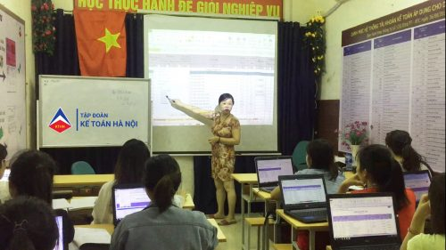 Lớp học kế toán thực hành tổng hợp tại TP.Vinh Nghệ An
