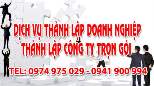 Dịch vụ thành lập doanh nghiệp công ty trọn gói giá rẻ tại Nam Định