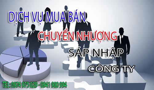 Dịch vụ chuyển nhượng, sáp nhập mua bán công ty tại Hà Nội