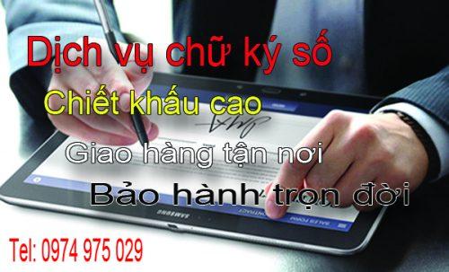 Dịch vụ chữ ký số chuyên nghiệp giá rẻ tại Quảng Ninh