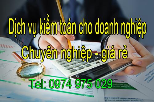 Dịch vụ kiểm toán cho doanh nghiệp chuyên nghiệp giá rẻ