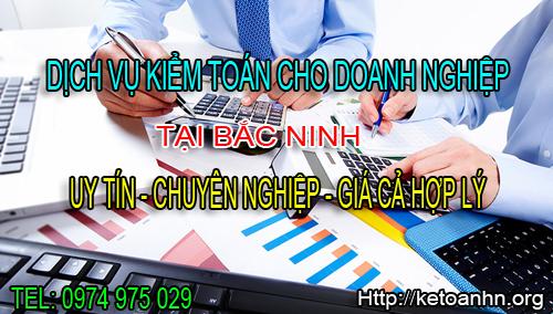 Dịch vụ kiểm toán cho doanh nghiệp tại Bắc Ninh