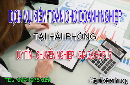 Dịch vụ kiểm toán cho doanh nghiệp tại Hải Phòng