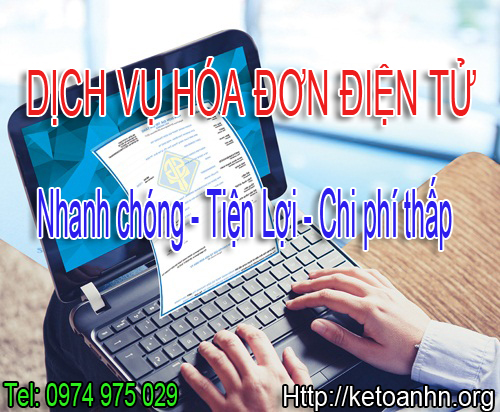 Dịch vụ cung cấp hóa đơn điện tử