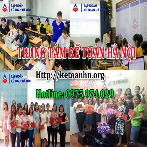 Lớp học kế toán tổng hợp thực hành tại Vũng Tàu