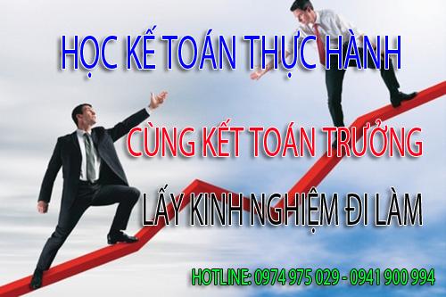 Trung tâm dạy kế toán thực hành tại Huyện Thanh Oai
