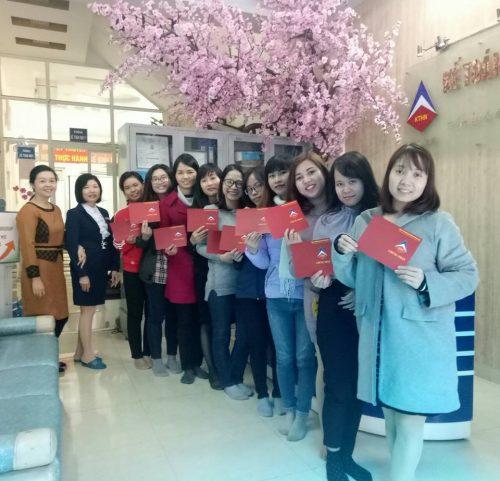 Lớp học kế toán tổng hợp thực hành tại Bắc Ninh