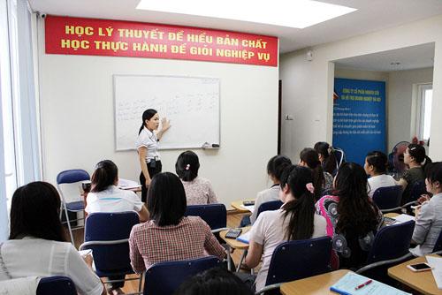 Lớp học thực hành kế toán tổng hợp tại Đà Nẵng