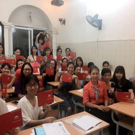 Lớp học kế toán tổng hợp thực hành tại Hải Phòng